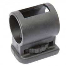 GLOCK Magazine Floor Plate w/ built-in mini-flashlight adaptor - 9mm, .40, .357, .45 GAP